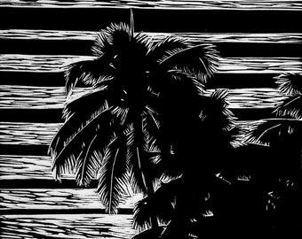 Palm Dreams Print
