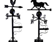 Horse or Rooster Cast Iron Mountable Weather Vane