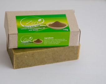 Zeri Lemongrass and Nettle Soap