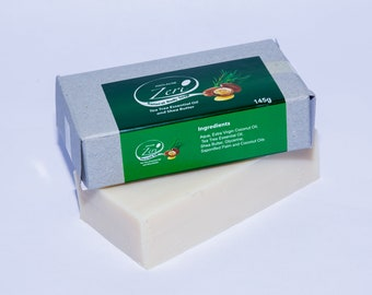 Zeri Tea Tree and Shea Butter Soap