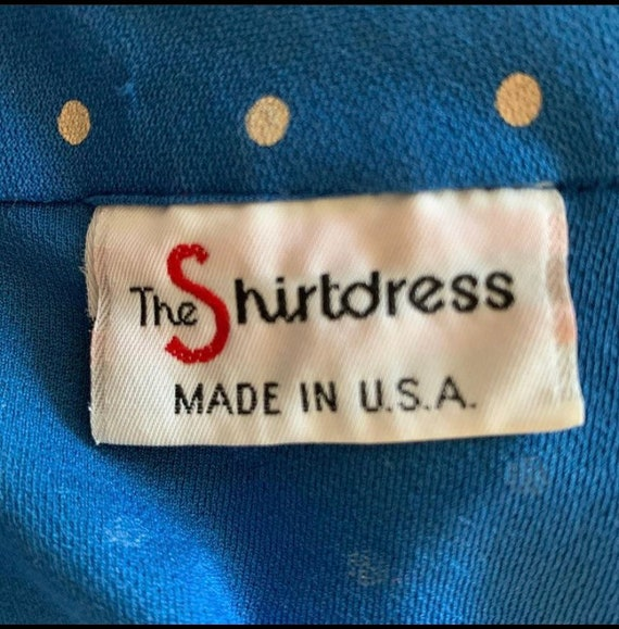 70s Sears Shirt Dress - image 3