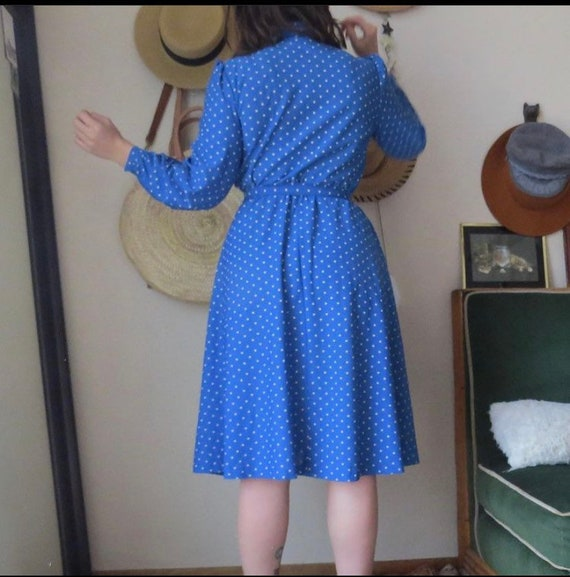 70s Sears Shirt Dress - image 5