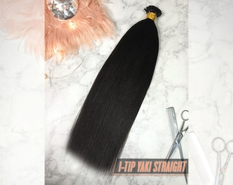 ITIP Yaki Relaxed Straight Hair Extensions - Natural Black - 100g