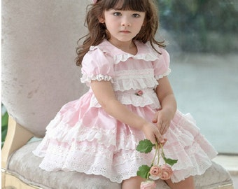 checkers dressroyal dresselegant girlbrand inspired dressluxury children dresschurch wear girlspring dresswedding baby outfitskirt