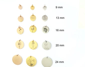 Additional personalized pendant