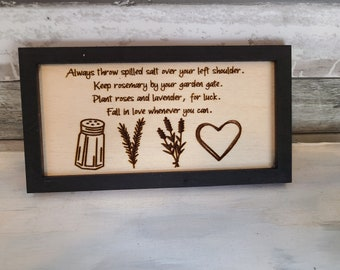 Practical Magic- Salt, Rosemary, Lavender & Love- Magnet