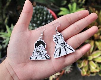 accessories accessory custom decoration anime earrings jewelry earrings Bokutou kawaii anime Haikyuu gift custom earrings cute
