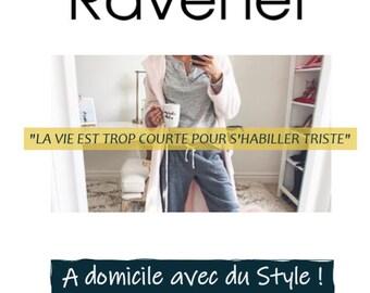 """48 IDÉES DE LOOKS dans ce Guide Ebook """"A domicile avec du Style !"""""""