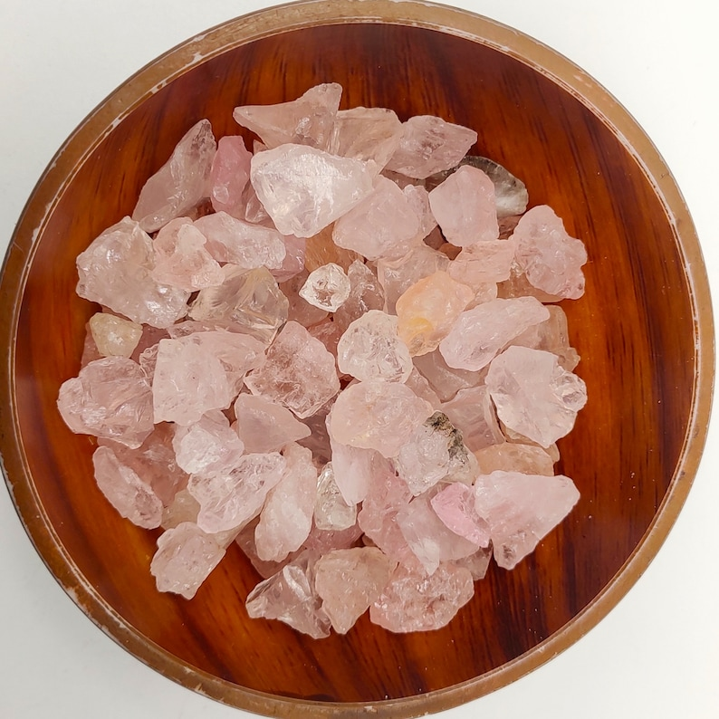 High Quality Rough-Natural Rough Rose Quartz 5 to 15 MM Approx-Jewelry Making Quartz Stone-Rose Quartz Raw Gemstone-Pink Quartz Gemstones