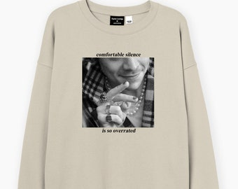 Comfortable Silence - From the Dining Table sweatshirt, Love on tour, Fan merch, gift for, 1D