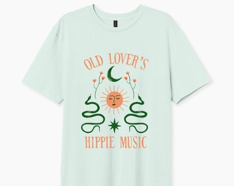 Old Lovers Hippie Music T-shirt, Canyon moon tshirt, Fine line, Love on tour, Gift for, Fan merch