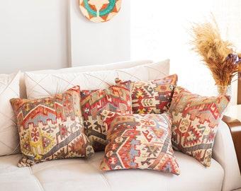 Turkish Rug Pillow Etsy