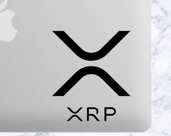 XRP Ripple Cryptocurrency Crypto Vinyl Decal