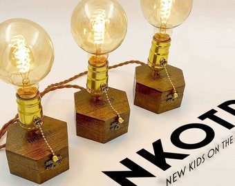 Get 1 for Free! Edison Table Lamp TIMEBULB | Vintage Home Decoration | Table Bar Sideboard Console lighting | Golden E27 Bulb | Present Gift