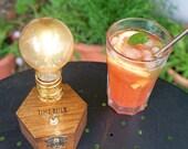 BBQ Garden Lamp TIMEBULB | accu powered led lighting | cordless table lamp | urban gardening decoration | Qi charging wireless | Present