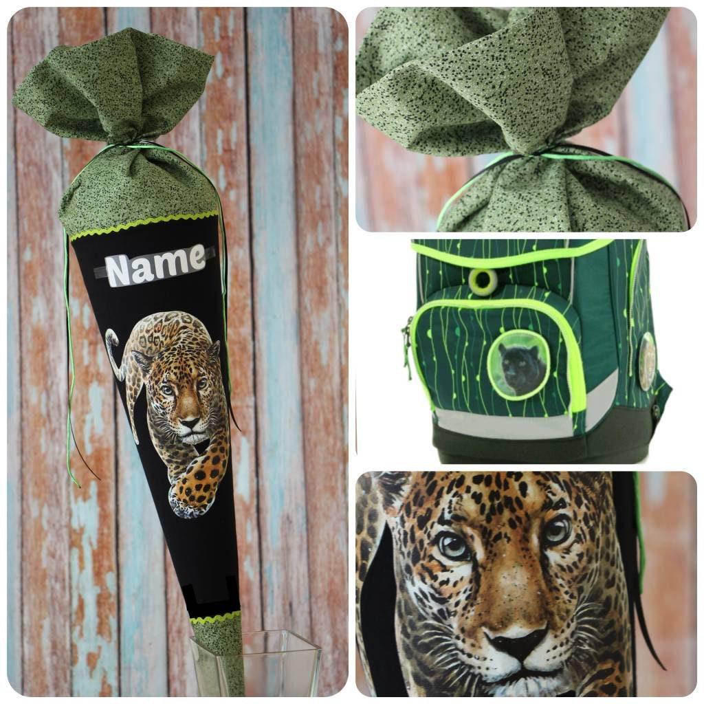 schultüte aus stoff zuckertüte tiger junge ergobag  etsy