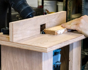 Vise Mounted router table   digital plans