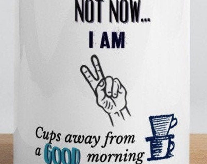 Not Now Mug with Color Inside