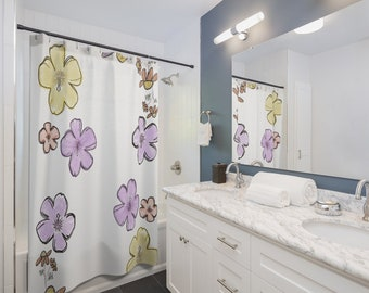 Floral Finery Shower Curtain