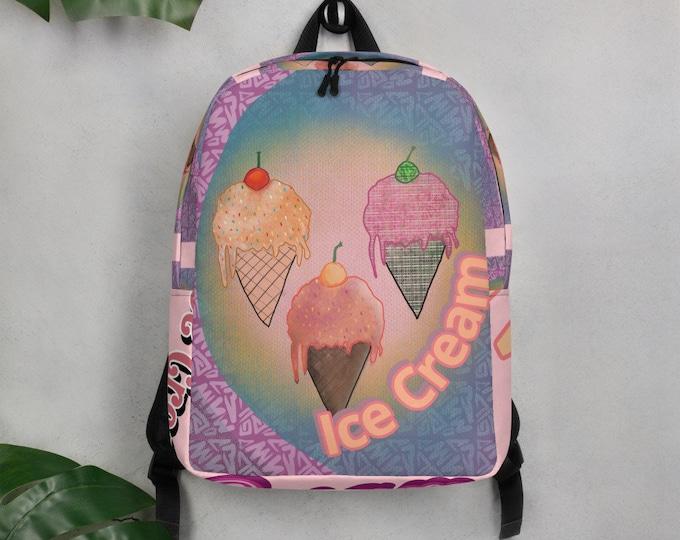 Ice Cream Minimalist Backpack