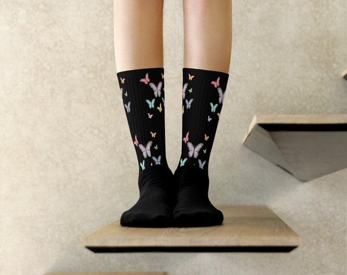 Butterflight Delight Socks