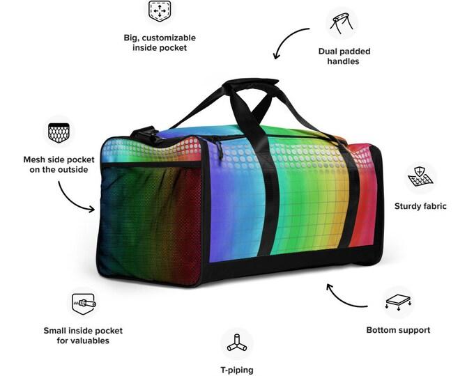 Rainbow Joy Duffle bag