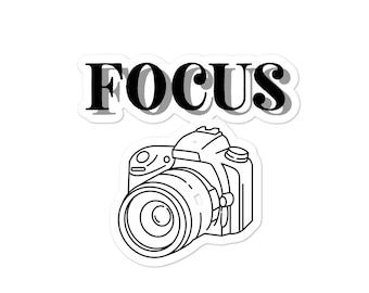 Focus Camera Sticker