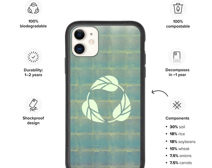 I Recycle Things Biodegradable Phone Case