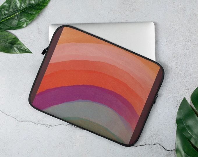 Layered Color Laptop Sleeve