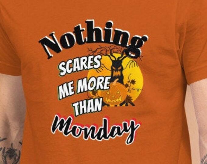 Scary Monday Short-Sleeve Unisex T-Shirt