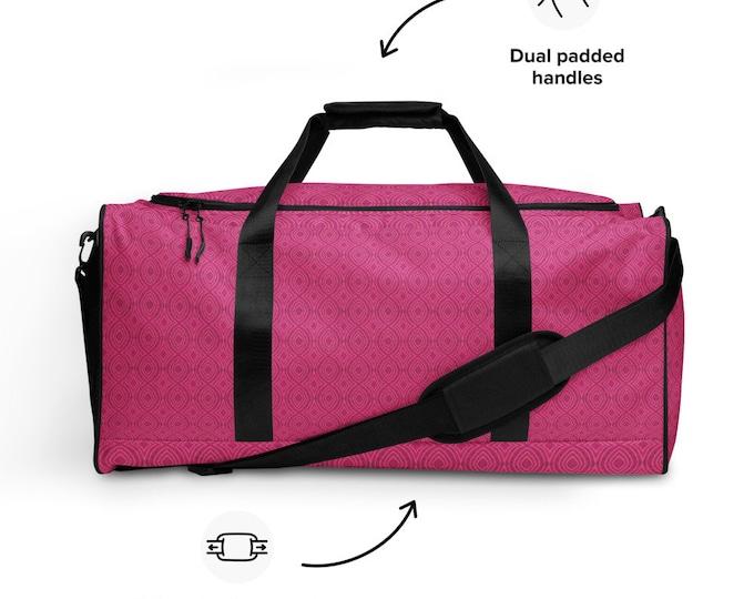 Hot Pink Duffle bag