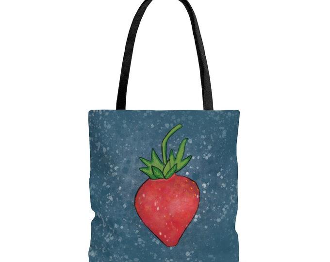 Strawberry Splendor Tote Bag