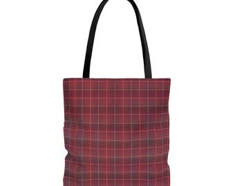 Plaid Perfection Tote Bag