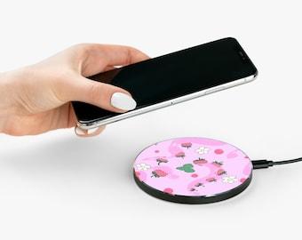 StrawSwirlBerry Wireless Charger