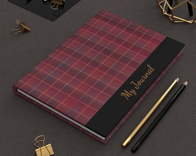 Burgundy Hardcover Matte Journal