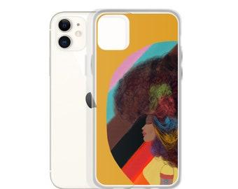 Golden Retro Pride iPhone Case