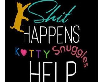 Custom Kitty Snuggles Mug