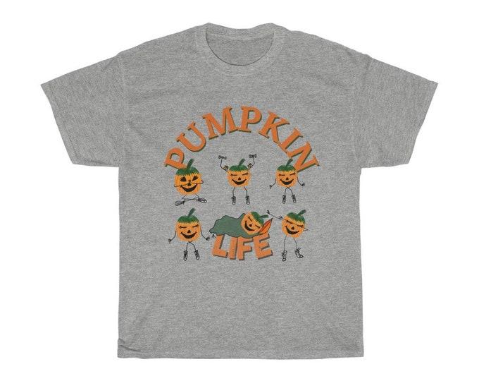 Pumpkin Life Unisex Heavy Cotton Tee