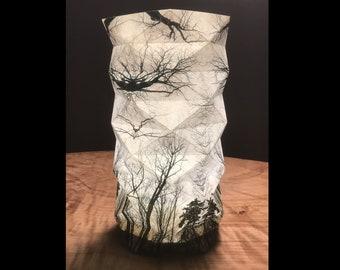 Kaleidoscope Tree Geodesic Lantern