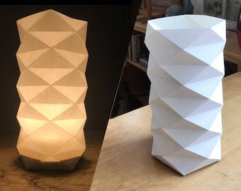 White Geodesic Lantern