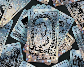 Diamond flare Tarot Deck with Guidebook and Box Classic Beginner Future Telling Divination Oracle Spiritual Deck Gift Set