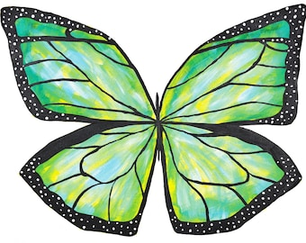 The 'Open Hearted Butterfly' - Print of an Original Painting