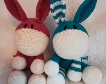 Made according to your wishes: Your personal donkey - Amigurumi - Donkey cuddly toy crocheted - Please read description