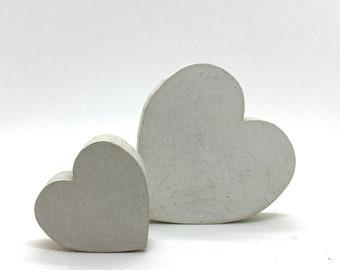 Concrete heart • Heart made of concrete