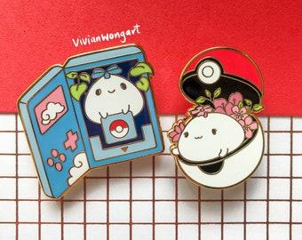 Pokeball Enamel Pins   Japanese Anime Enamel Pin   Cute Enamel Pin   Pokedex Enamel Pin   Enamel Pins Set  