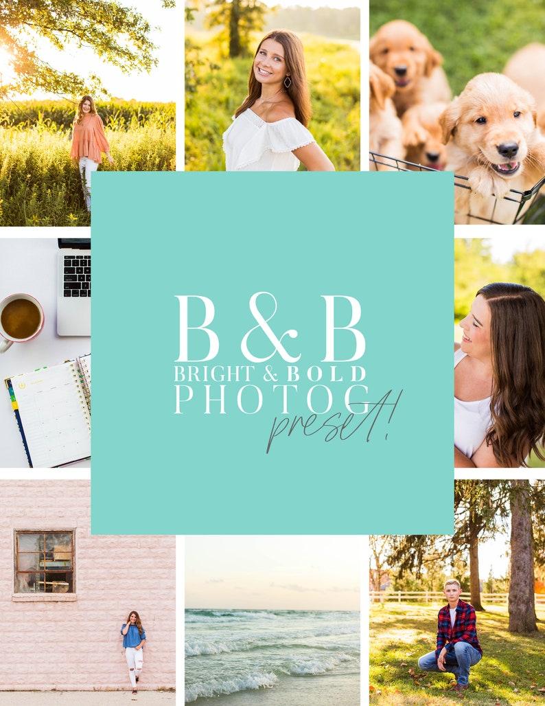Bright & Bold Photographer Desktop and Mobile Preset image 0
