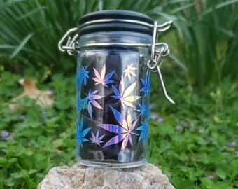 2 PERSONALIZED Marijuana jar labels \u2022 Organize your Stash \u2022 Perfect for mason jars