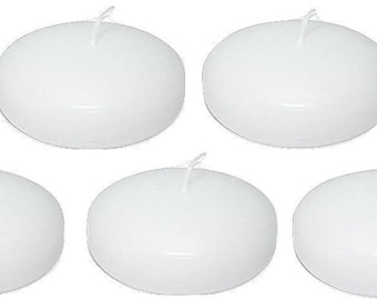 D'light Online Bulk Pack Floating Candles for Events, Weddings, Spa, Home Decor, Special Occasions and Holiday Decorations