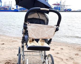 Minimalist stroller bag as buggy organizer