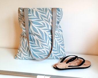 Shopper or beach bag in linen look
